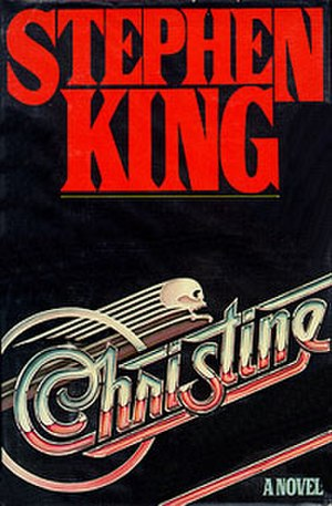 Christine (novel) - The first edition cover.