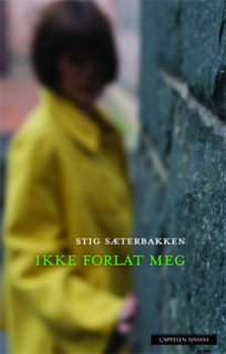 <i>Dont Leave Me</i> (novel) book by Stig Sæterbakken