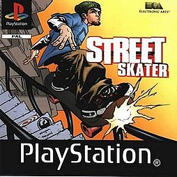 Street Skater - European box art