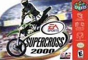 Supercross 2000 - Box art