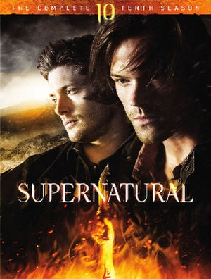 Supernatural (season 10) - DVD cover art