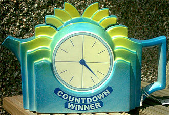 Countdown (game show) - A Countdown teapot is awarded to any contestant who wins a game.
