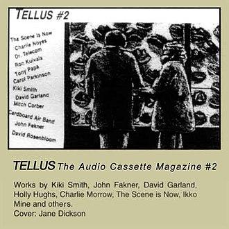 Tellus Audio Cassette Magazine - Image: Tellus 02b