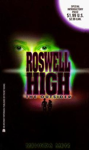 Roswell High - Original cover for The Outsider