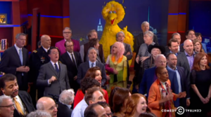 Final episode of The Colbert Report - Image: The Final episode of The Colbert Report
