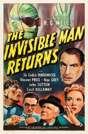 The Invisible Man Returns - Theatrical release poster