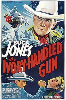 <i>The Ivory-Handled Gun</i> 1935 film by Ray Taylor