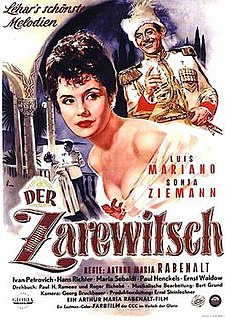 <i>The Little Czar</i> 1954 film