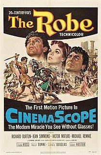 <i>The Robe</i> (film) 1953 film by Henry Koster