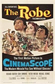 La Robe (1953 filmafiŝo).jpg
