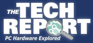 The Tech Report - Image: The Tech Report Logo