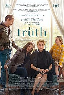 <i>The Truth</i> (2019 film) 2019 film by Hirokazu Koreeda