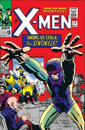 Sentinel (comics) - Image: The X Men (Uncanny X Men) vol.1 14 (November 1965)