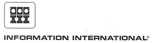 Information International, Inc. - Image: The corporate logo for Information International, Inc