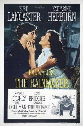 The Rainmaker (1956 film) - Film poster