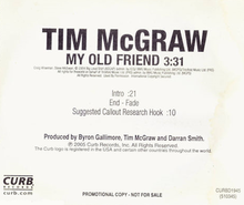 Tim McGraw - My Old Friend cover.png