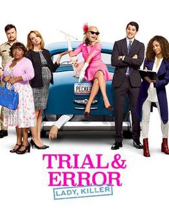 Trial & Error (TV series) - Season 2 poster with the cast of the season.