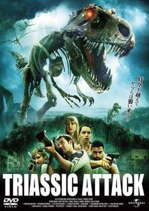 Triassic Attack - DVD cover