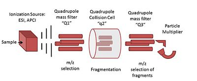 Triple quadrupole mass...