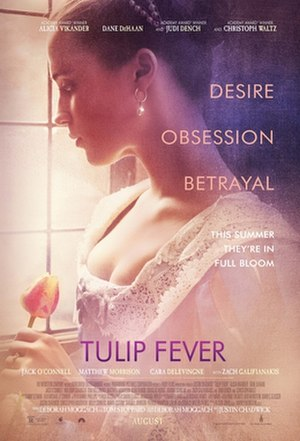 Tulip Fever - Theatrical release poster