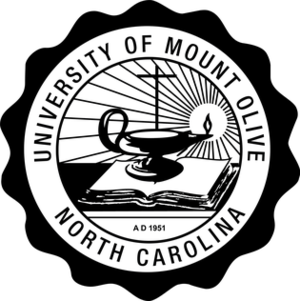 University of Mount Olive - Official Seal of University of Mount Olive