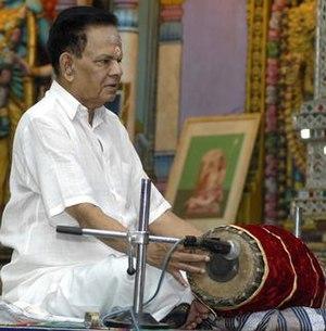 Vellore G. Ramabhadran - Vellore Ramabhadran during a concert in Chennai