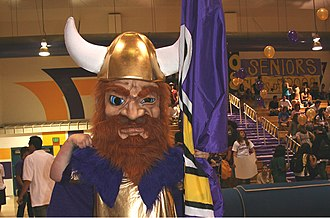 Valencia High School (Santa Clarita, California) - Vick The Viking - Spirit Rally
