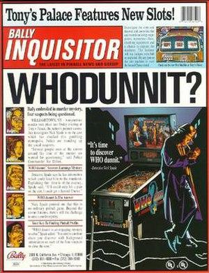 Who dunnit slots