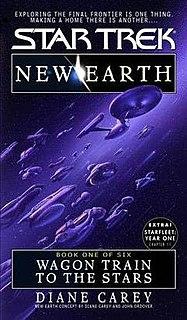 <i>Star Trek: New Earth</i> Series of Star Trek novels