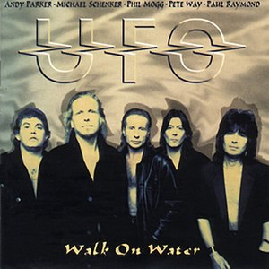 Walk on Water (UFO album) - Image: Walk on Water cover
