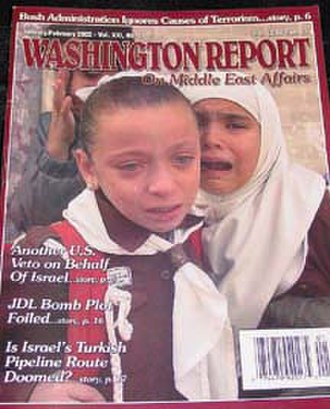 Washington Report on Middle East Affairs - January/February 2002 issue