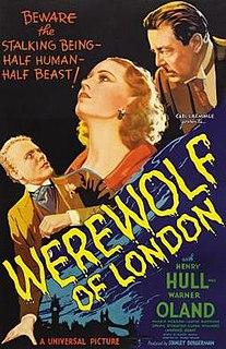 <i>Werewolf of London</i> 1935 film by Stuart Walker