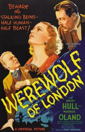 Werewolf of London - Promotional release poster