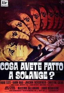 1972 film by Massimo Dallamano
