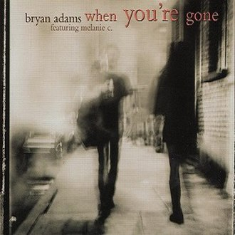 When You're Gone (Bryan Adams song) - Image: Whenyou'regonecover
