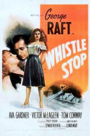 Whistle Stop (film) - Theatrical release poster
