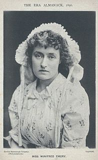 Winifred Emery British actress