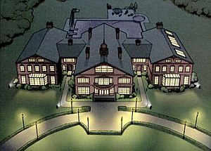 X-Men - The Xavier Institute for Higher Learning, or X-Mansion, is the headquarters of the X-Men.