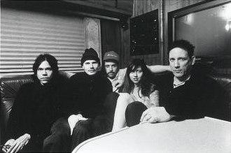 Zwan - Zwan in 2003. Left to right: David Pajo, Billy Corgan, Matt Sweeney, Paz Lenchantin, and Jimmy Chamberlin