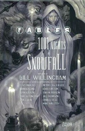 1001 Nights of Snowfall - Cover of Fables: 1001 Nights of Snowfall Art by James Jean