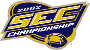 2002 SEC Championship Game - 2002 SEC Championship logo.