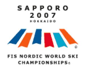 FIS Nordic World Ski Championships 2007 - Image: 2007 FIS Nordic WSC logo
