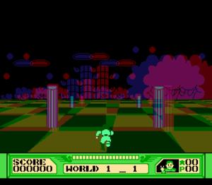 The 3-D Battles of WorldRunner - Image: 3dworldrunner 3deffect