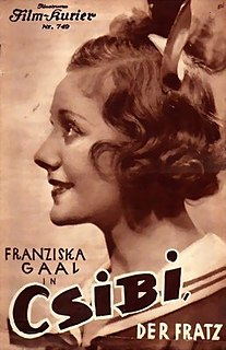 <i>A Precocious Girl</i> 1934 film by Richard Eichberg, Max Neufeld