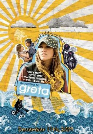 According to Greta - Theatrical release poster