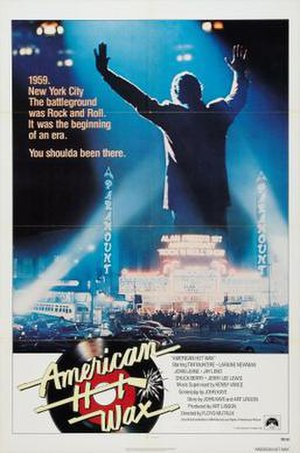 American Hot Wax - Theatrical release poster