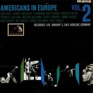 Americans in Europe - Image: Americans in Europe Vol 2