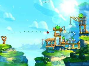 Angry Birds 2 - Screenshot of gameplay