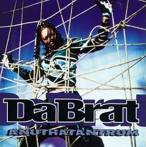 Anuthatantrum - Image: Anuthatantrum (Da Brat album cover art)