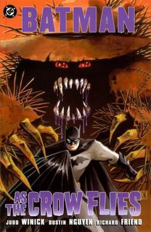 Scarecrow (DC Comics) - Cover image for the graphic novel As the Crow Flies. Art by Richard Friend and Dustin Nguyen.